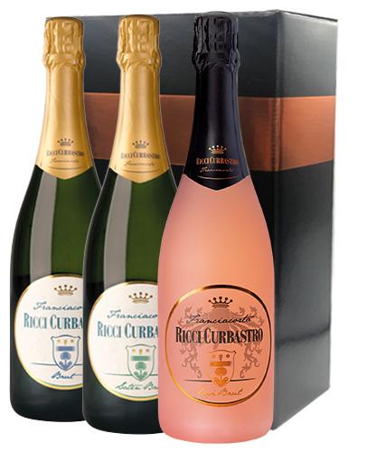 Confezione regalo Brut - Satén Brut 2015 - Rosé Brut